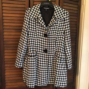 Jackets & Blazers - Coat , Houndstooth,